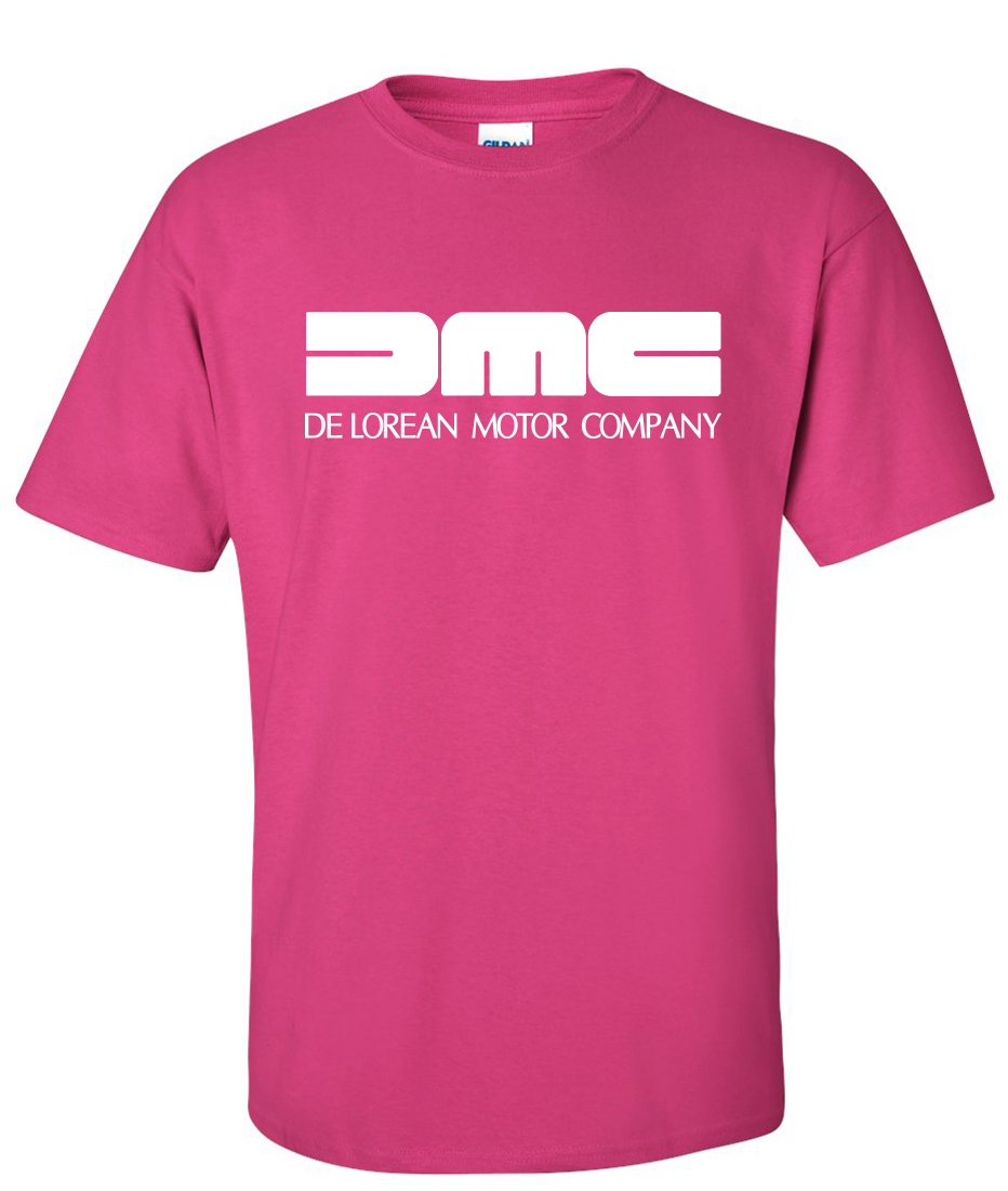 Dmc delorean motor company logo graphic t shirt for T shirts for business logo