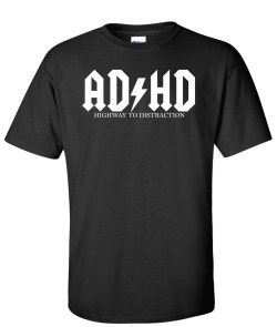 adhd highway to distraction black