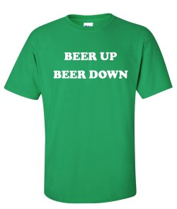 beer up beer down green