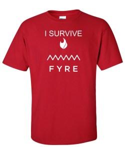 i survive fyre red