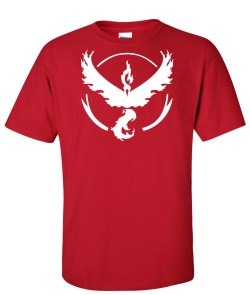 pokemon go team valor red