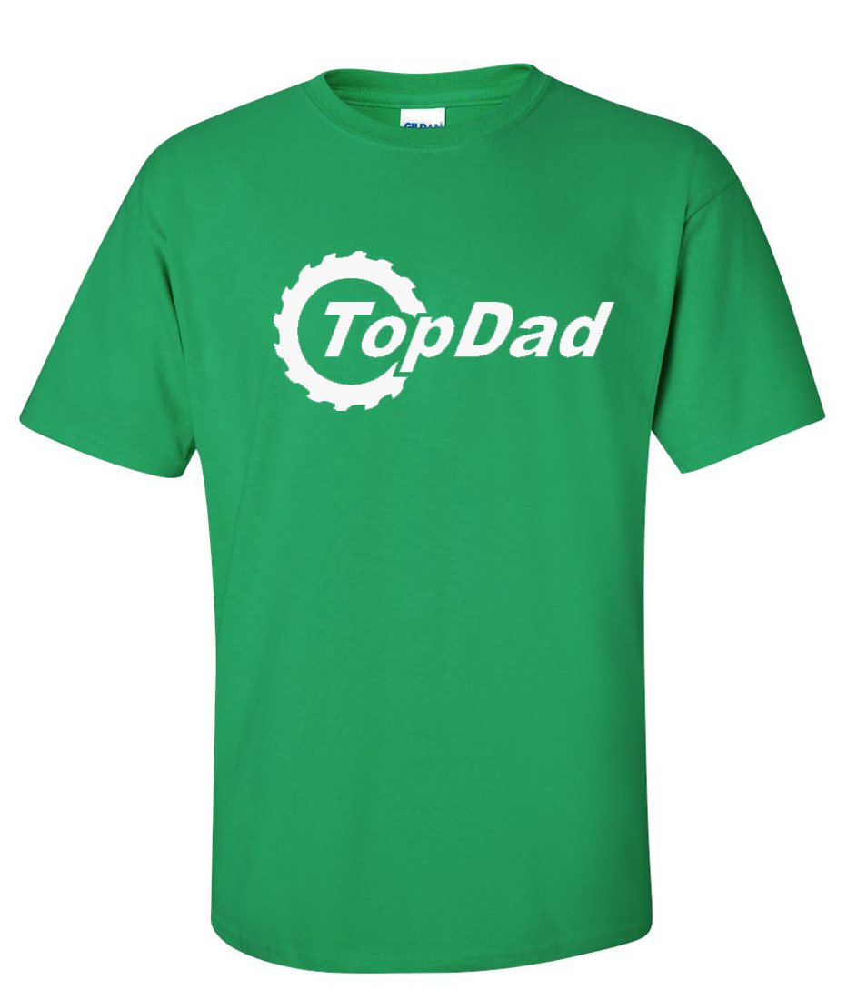 Top dad topgear bbc logo graphic t shirt supergraphictees for Best custom t shirts reddit