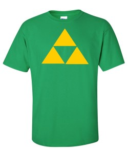zelda triforce green