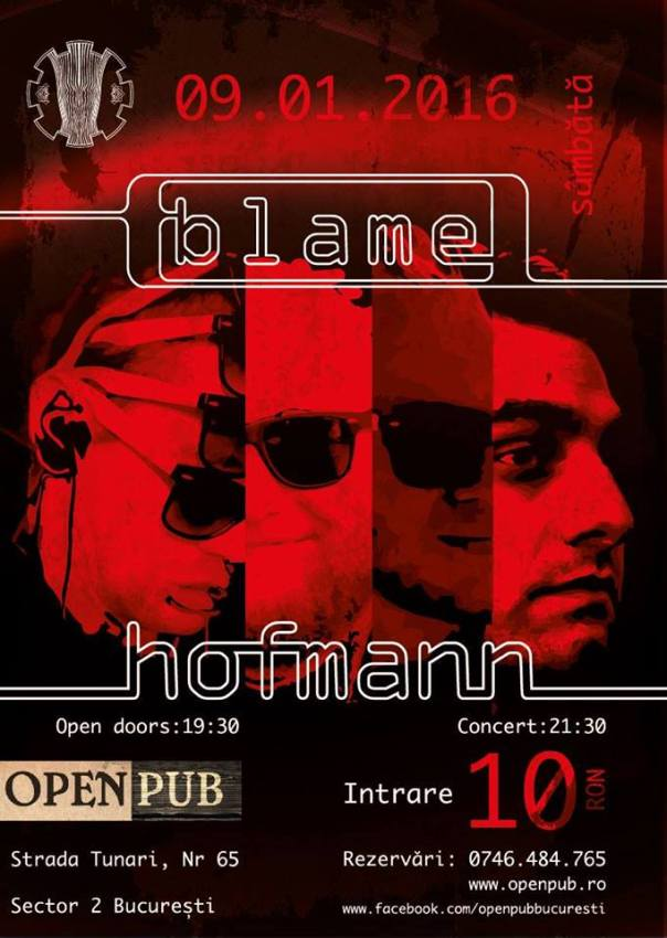 Blame Hofmann – tribut Tool