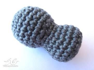 Crochet Elephant Body