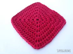 Crochet Square Coaster Pattern
