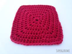 Simple Square Coaster Crochet Pattern