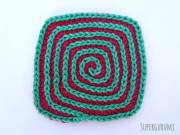 Square Crochet Coaster