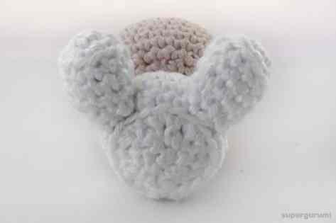 Assemble Crochet Angel Step 3
