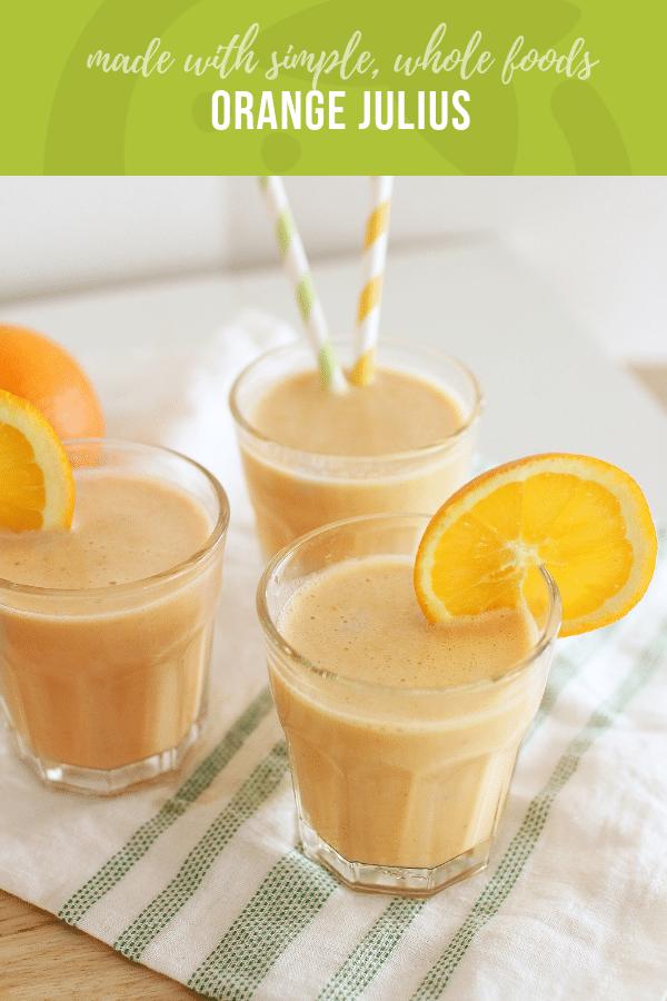 Orange Julius Recipe | Healthy Ideas and Recipes for Kids