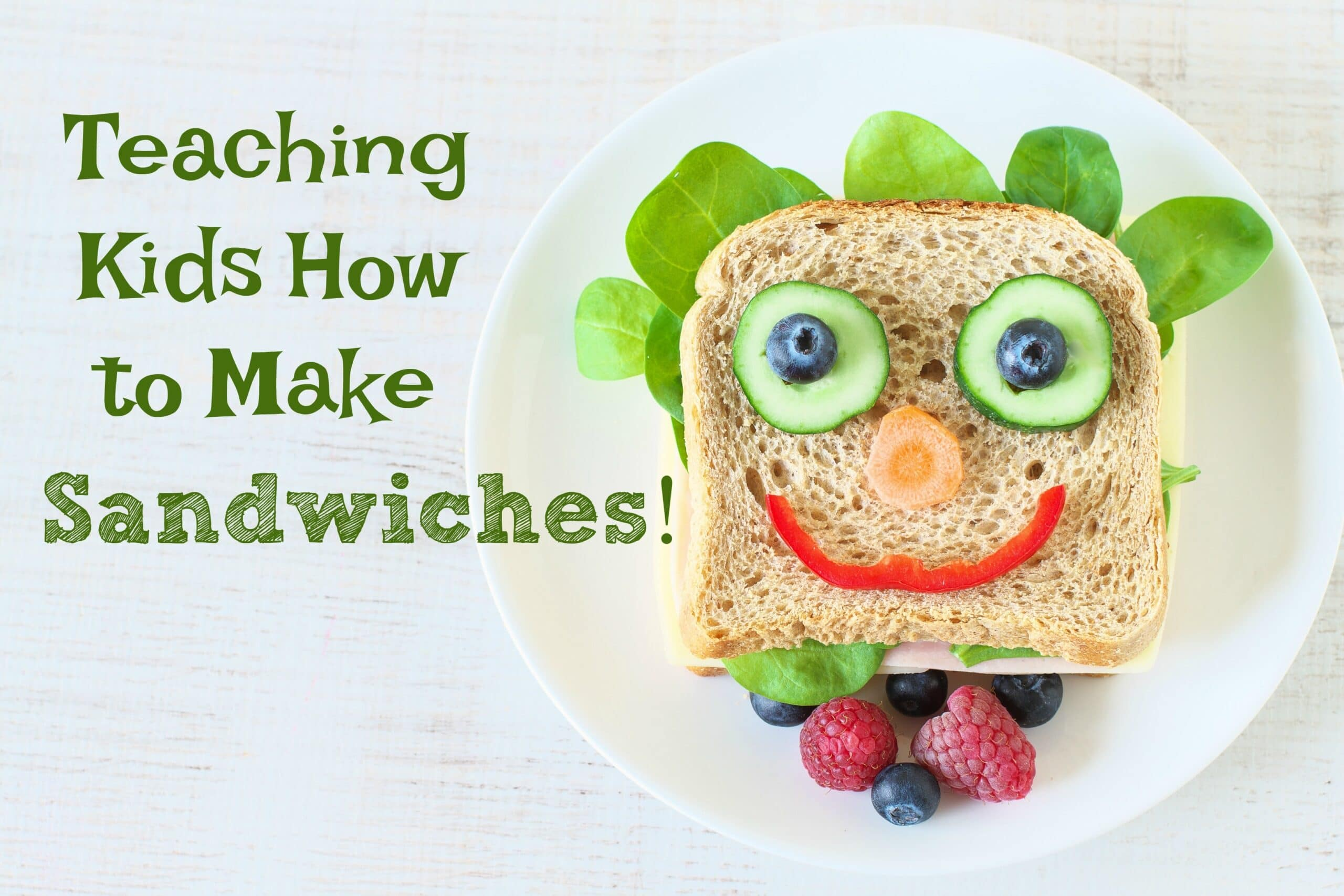 Teaching Kids How To Make Sandwiches With A Printable