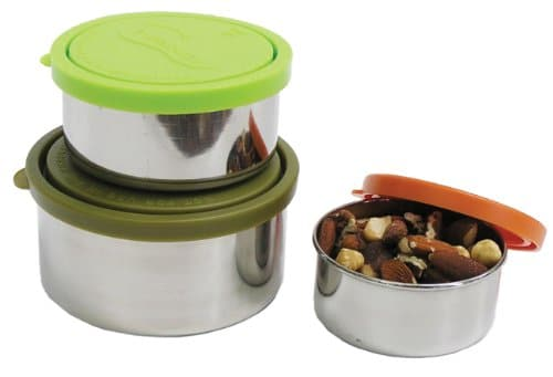 stainless steel snack containers
