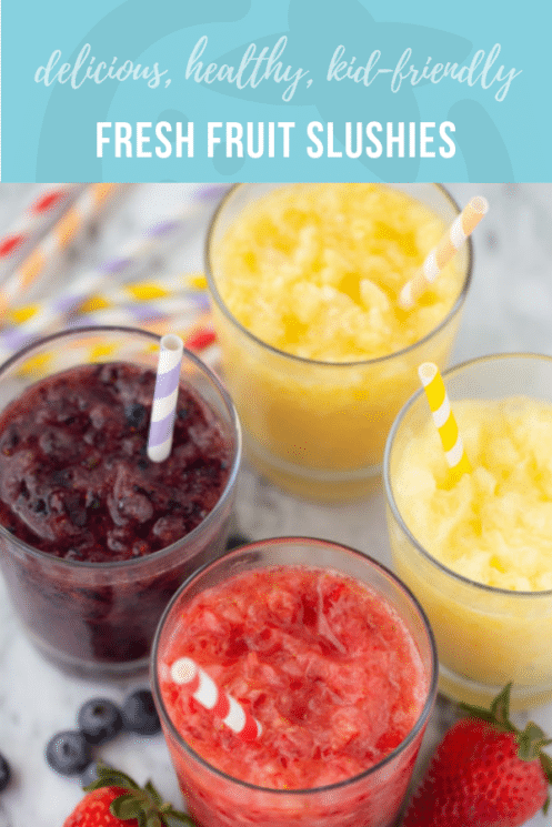 Real Fruit Slushies | Healthy Recipes and Ideas for Kids | Super Healthy Kids