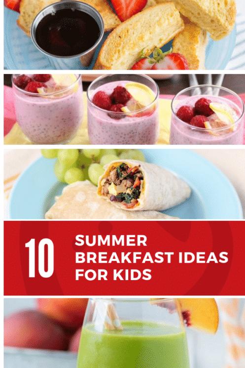 Summer breakfast ideas for kids