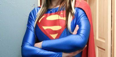 Supergirl chest of Susan Willson