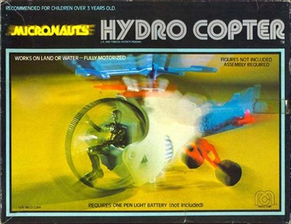 Micronauts Hydrocopter Package