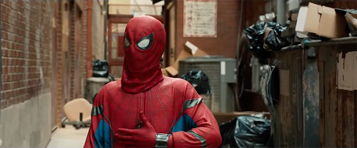 Spider-Man Homecoming Suit Autofit