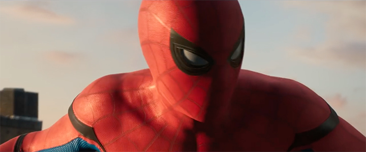 Spider-Man Homecoming Suit Expressive Eyes