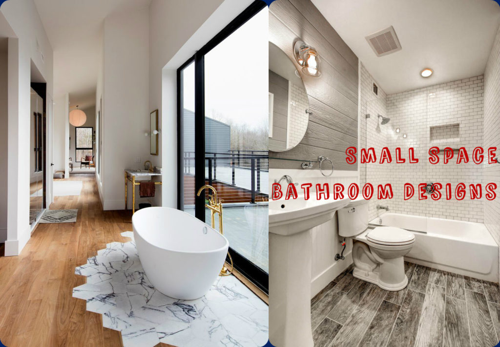 15 Great Modern Bathroom Designs For Small Spaces on Bathroom Ideas For Small Space  id=23699