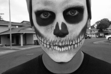 halloween makeup ideas for guys with beards idea gallery