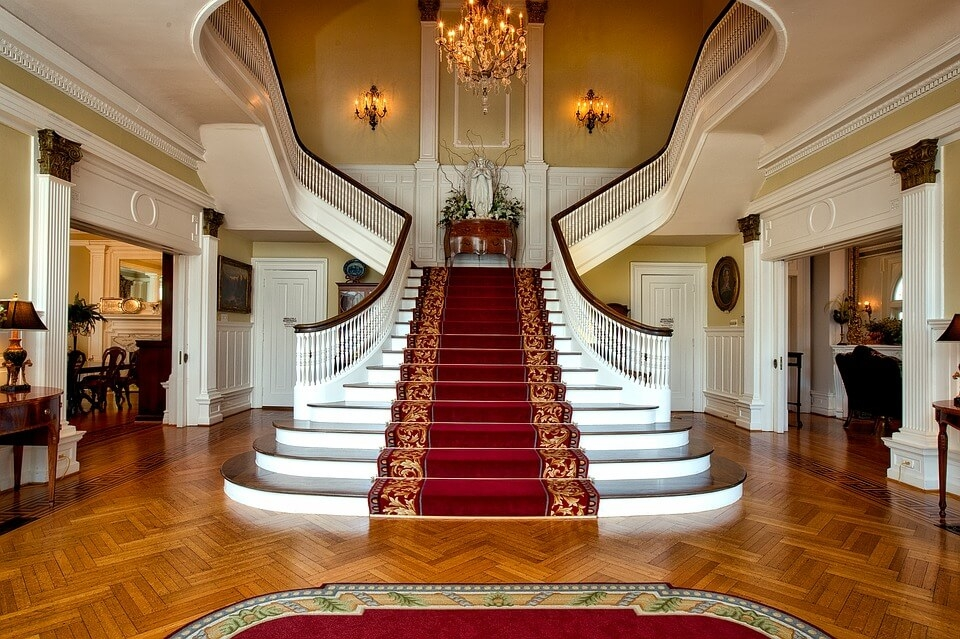44 Beautiful And Unique Stair Design Ideas For Home | Home Front Stairs Design | Outside Stair | Double Floor | Building | Balcony | Beautiful
