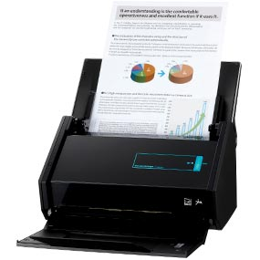 Fujitsu ScanSnap iX500 Scanner for PC and Mac