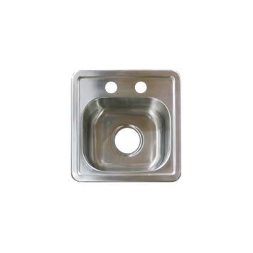 stainless steel bar sink ss15156