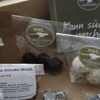 eat Himbeer-Pflaume und eat Kokos-Mandel