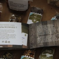 Die Verpackung der Produkte