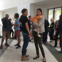 Treffen der PaleoMamas: Meine Frau Birgit von paleomama.de (rechts) und Darja Wagner von paleo-mama.de (links)