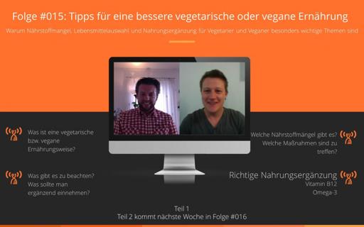 ipps für eine bessere vegetarische oder vegane Ernährung