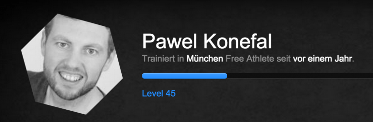 1 Jahr Freeletics Pawel M. Konefal (Stand 12/2014)