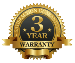 3 year warranty bathtub refinishing