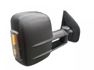 Clearview Tow Mirrors Ford Ranger PX 2012 On (Black with