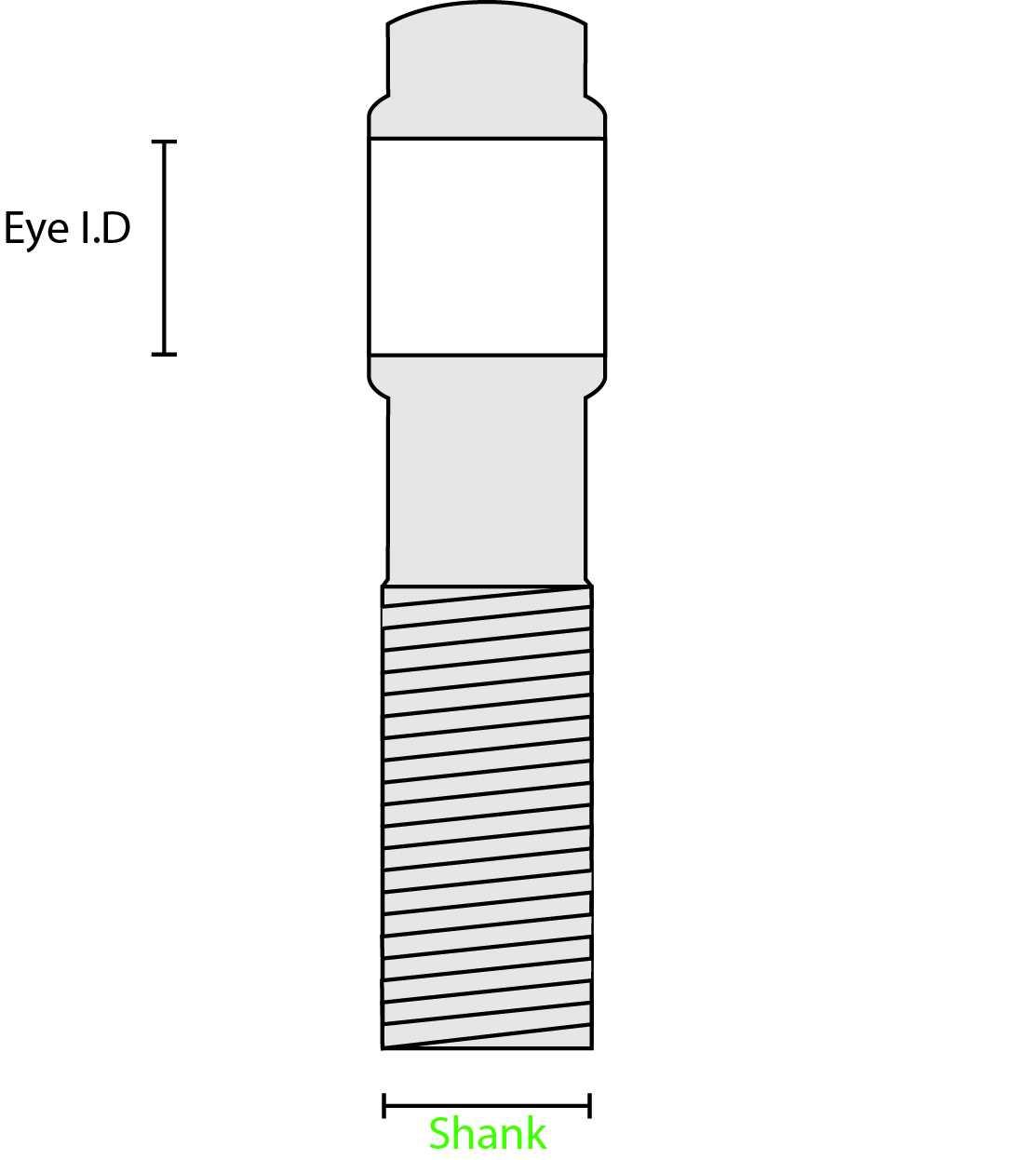 Chromoly Rod Heim Joint End 3 4 Inch Right Hand Thread