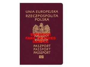 Sample Fake Passport