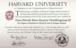 fake bachelor's degrees