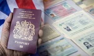 fake passport UK