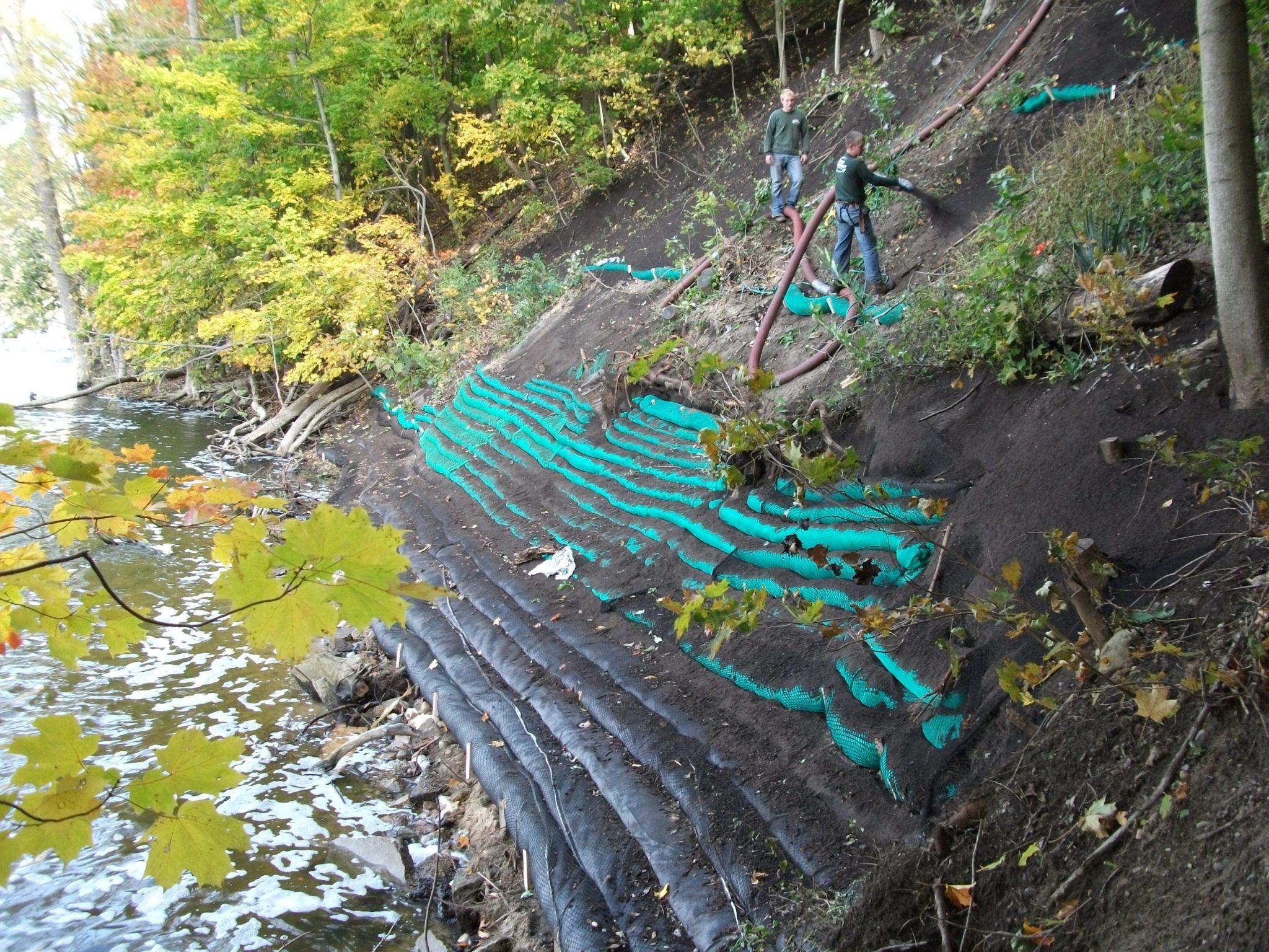 Allegan County Shoreline Erosion