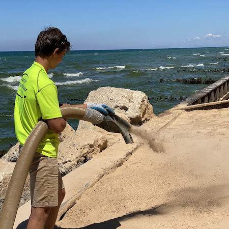 beach sand delivery and the environment