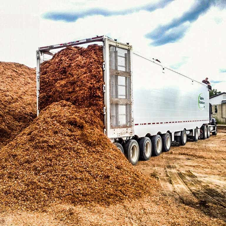 truck load with groundcover