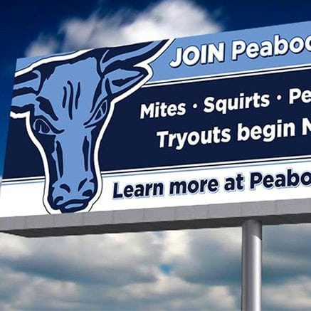Peabody Youth Hockey Billboard