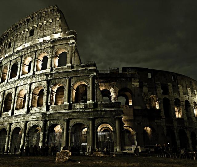 Wonderful Architecture In Rome Colosseum Building Wallpaper Download 1280x960