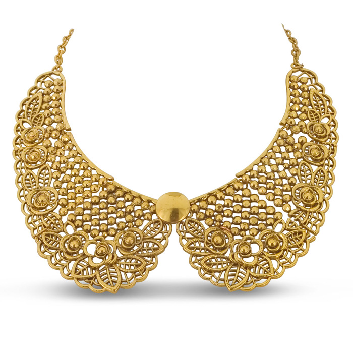 Ornate Gold Collar