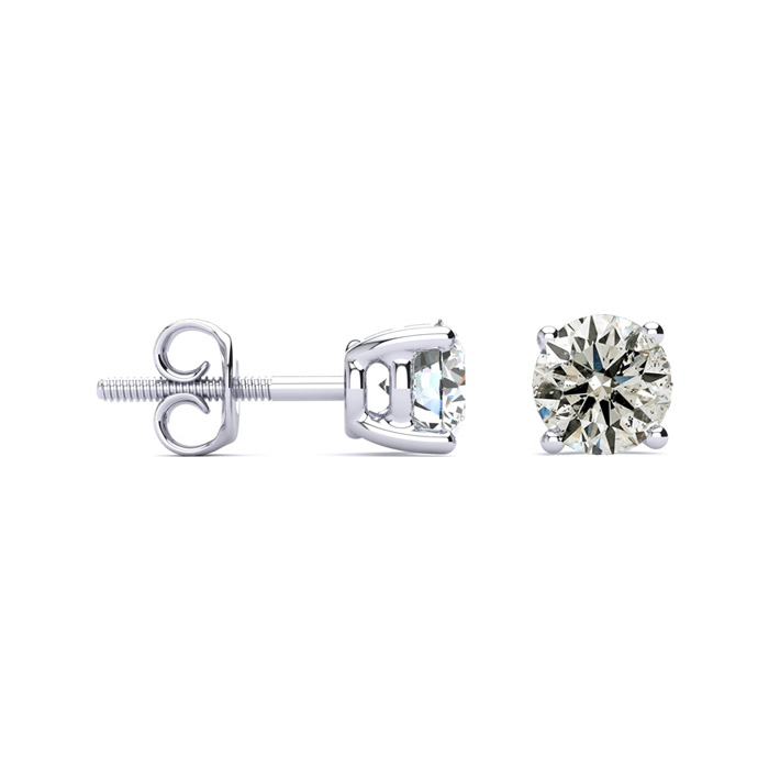 LIMITED SUPPLY! 1½ Carat Diamond Studs in 14K White Gold
