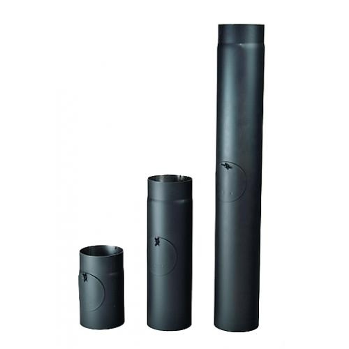 Kouřová roura s čistícím otvorem 125/250/2 mm