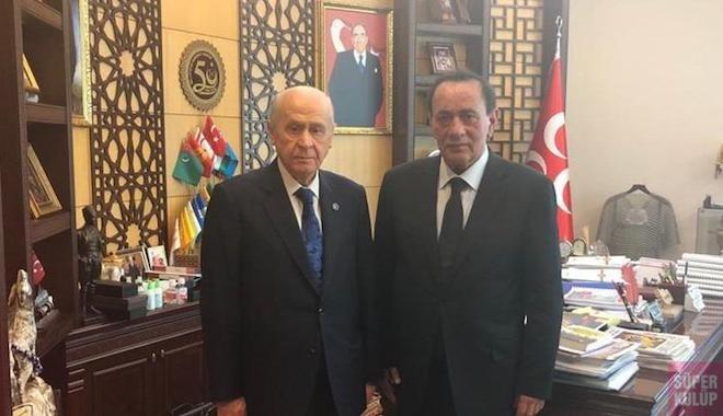 Çakıcı'dan MHP lideri Bahçeli'ye iadei ziyaret