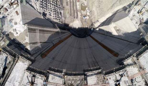 Yusufeli Barajı'nın gövde yüksekliğinde 247 metreye ulaşıldı