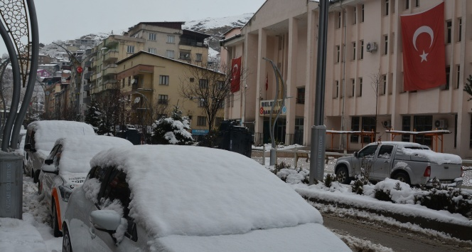 Hakkari'de 74 yerleşim yeri ulaşıma kapandı