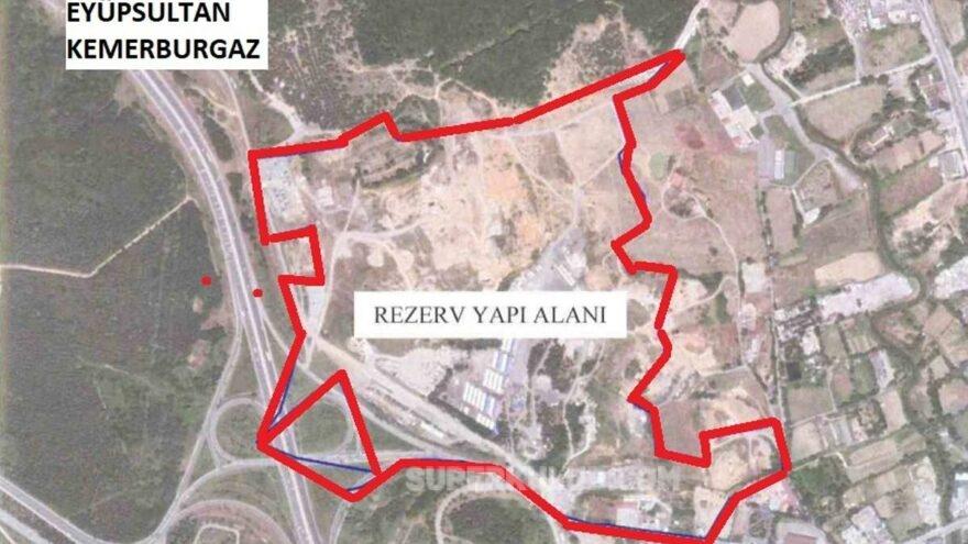 İstanbul'da Çevre Düzeni Planı delindi, yeşil alana rezidanslar dikilecek
